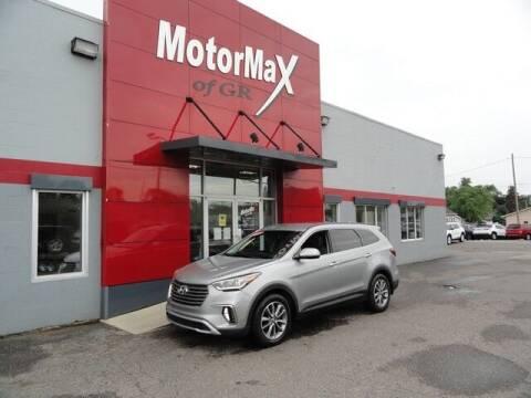 2018 Hyundai Santa Fe for sale at MotorMax of GR in Grandville MI