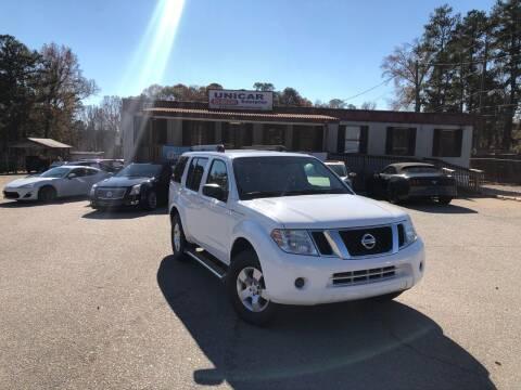 2012 Nissan Pathfinder for sale at Unicar Enterprise in Lexington SC