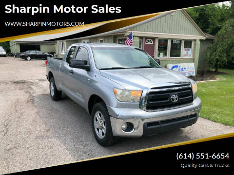 2010 Toyota Tundra for sale at Sharpin Motor Sales in Columbus OH