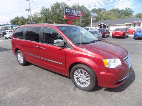 2015 Chrysler Town and Country for sale at Comet Auto Sales in Manchester NH