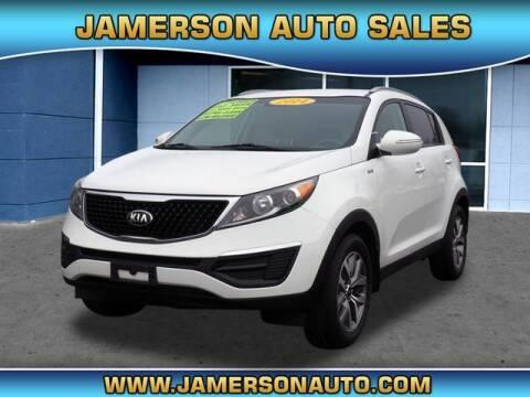 2014 Kia Sportage for sale at Jamerson Auto Sales in Anderson IN
