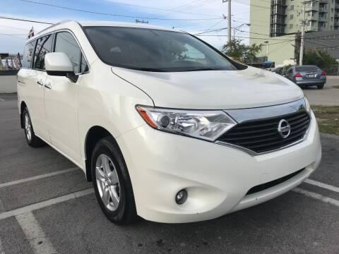 2017 Nissan Quest for sale at MIAMI AUTO LIQUIDATORS in Miami FL