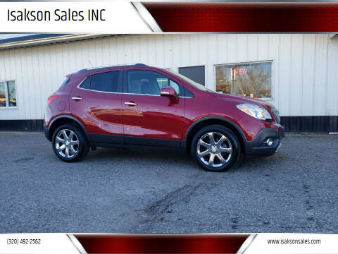 2014 Buick Encore for sale at Isakson Sales INC in Waite Park MN