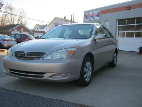 2004 Toyota Camry for sale at Joe's Auto Sales & Service in Cumberland RI