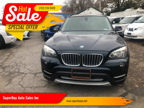 2013 BMW X1 for sale at SuperBuy Auto Sales Inc in Avenel NJ