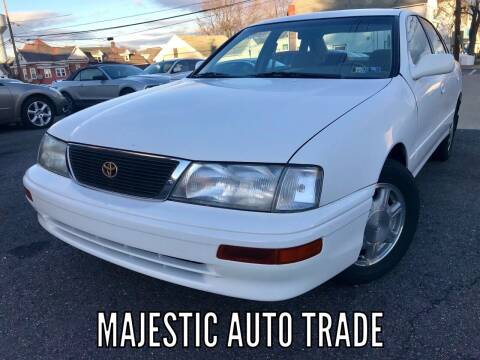 1996 Toyota Avalon for sale at Majestic Auto Trade in Easton PA