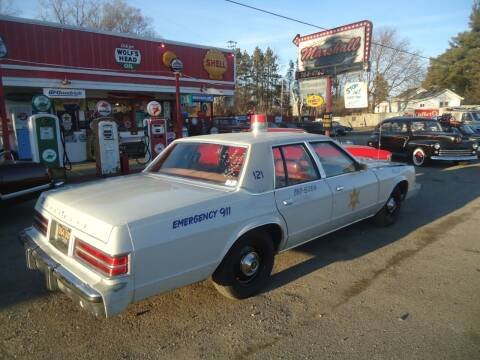 1979 Chrysler Newport for sale at Marshall Motors Classics in Jackson Michigan MI