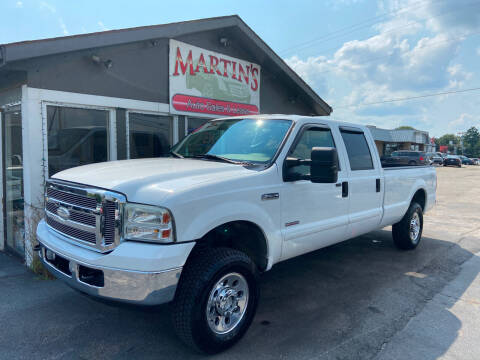 2006 Ford F-250 Super Duty for sale at Martins Auto Sales in Shelbyville KY