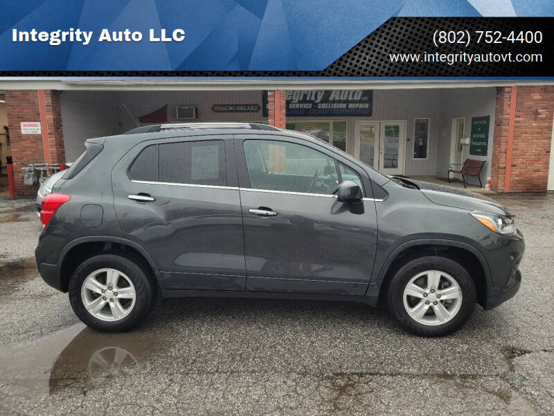 2020 Chevrolet Trax for sale at Integrity Auto LLC - Integrity Auto 2.0 in St. Albans VT