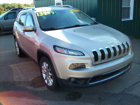 2015 Jeep Cherokee for sale at Summit Auto Inc in Waterford PA
