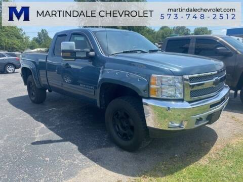 2012 Chevrolet Silverado 1500 for sale at MARTINDALE CHEVROLET in New Madrid MO