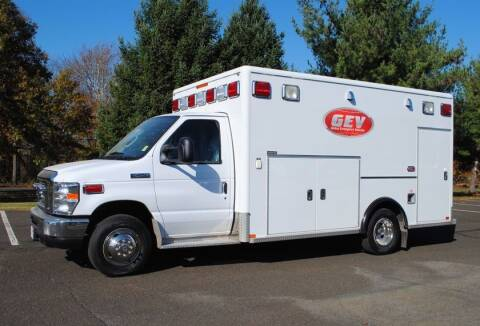 2021 Ford E-450 Type III Ambulance for sale at Global Emergency Vehicles Inc in Levittown PA