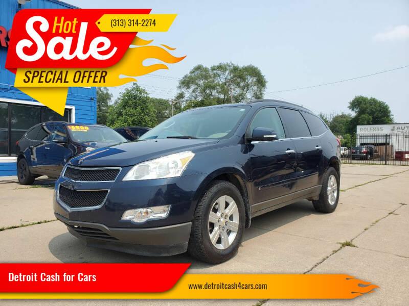 2010 Chevrolet Traverse for sale at Detroit Cash for Cars in Warren MI