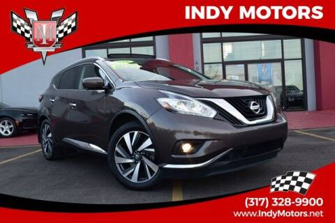 2016 Nissan Murano for sale at Indy Motors Inc in Indianapolis IN