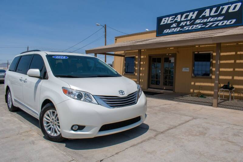 2016 Toyota Sienna for sale at Beach Auto and RV Sales in Lake Havasu City AZ