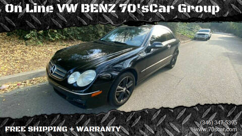 2008 Mercedes-Benz CLK for sale at On Line VW BENZ 70'sCar Group in Warehouse CA