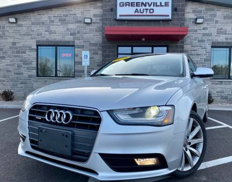 2013 Audi A4 for sale at GREENVILLE AUTO in Greenville WI