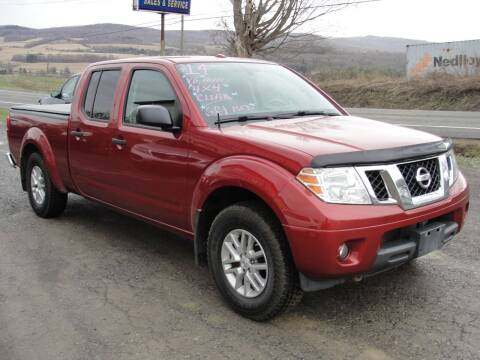 2014 Nissan Frontier for sale at Turnpike Auto Sales LLC in East Springfield NY