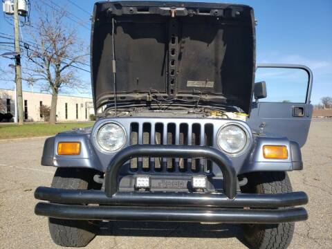 2002 Jeep Wrangler for sale at Premium Motors in Rahway NJ