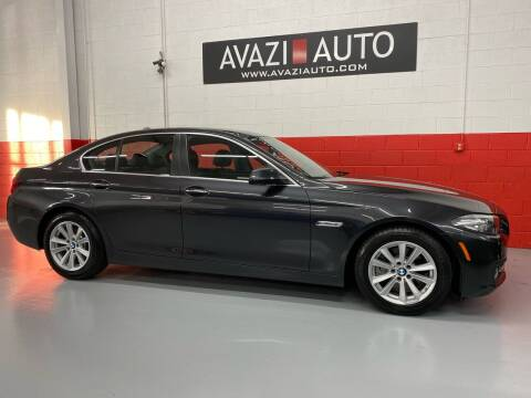 2015 BMW 5 Series for sale at AVAZI AUTO GROUP LLC in Gaithersburg MD