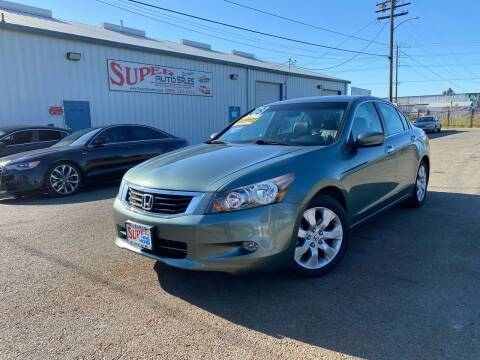 2008 Honda Accord for sale at SUPER AUTO SALES STOCKTON in Stockton CA