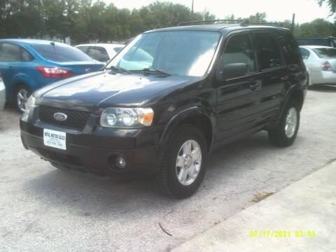 2006 Ford Escape for sale at ROYAL MOTOR SALES LLC in Dover FL