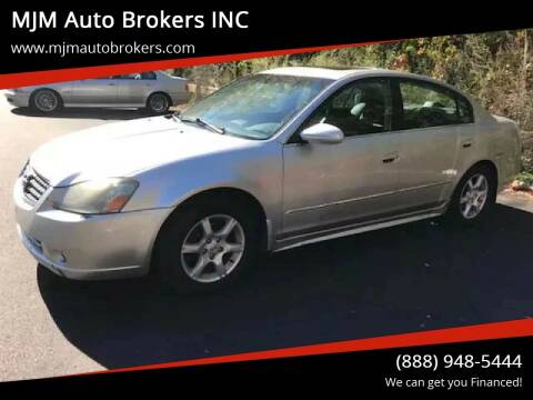 2005 Nissan Altima for sale at MJM Auto Brokers INC in Gloucester MA
