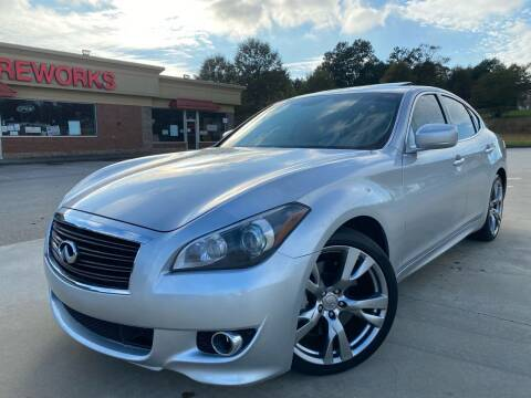 2012 Infiniti M56 for sale at Gwinnett Luxury Motors in Buford GA