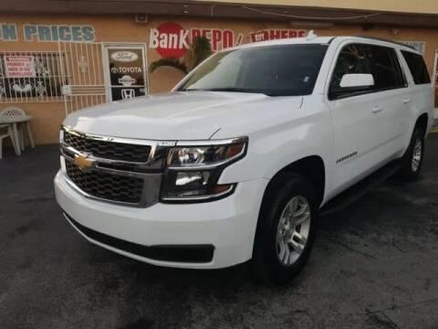 2017 Chevrolet Suburban for sale at VALDO AUTO SALES in Miami FL