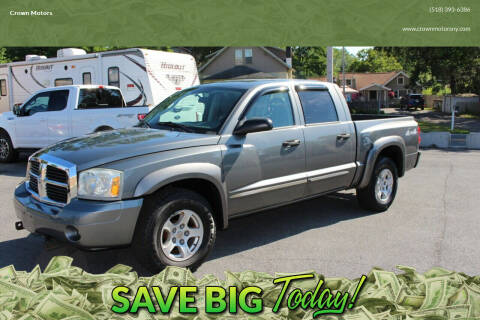 2005 Dodge Dakota for sale at Crown Motors in Schenectady NY