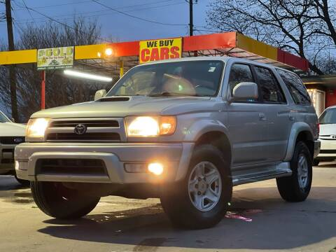 2000 Toyota 4Runner for sale at Texas Select Autos LLC in Mckinney TX