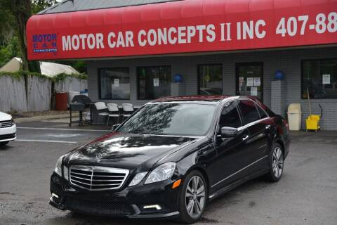 2010 Mercedes-Benz E-Class for sale at Motor Car Concepts II - Apopka Location in Apopka FL