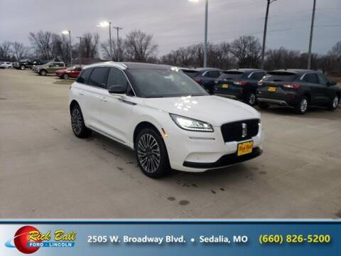 2021 Lincoln Corsair for sale at RICK BALL FORD in Sedalia MO