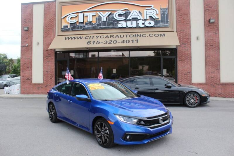 2019 Honda Civic for sale at CITY CAR AUTO INC in Nashville TN