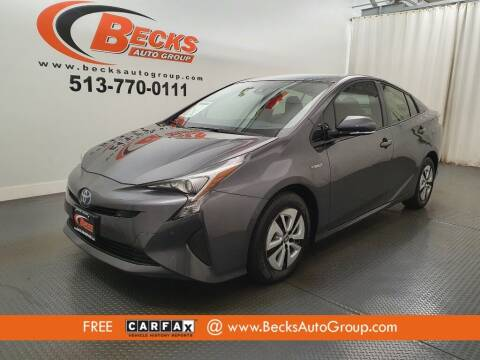 2017 Toyota Prius for sale at Becks Auto Group in Mason OH