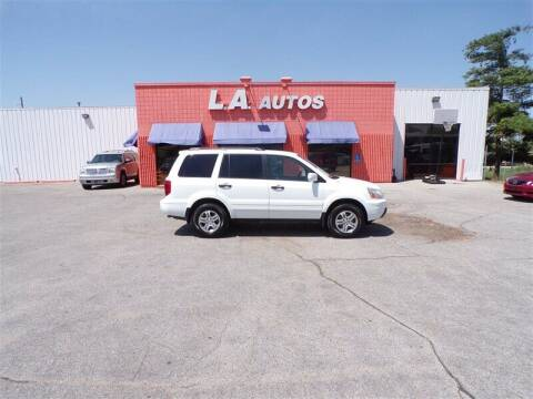 2005 Honda Pilot for sale at L A AUTOS in Omaha NE