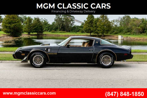1979 Pontiac Trans Am for sale at MGM CLASSIC CARS in Addison IL