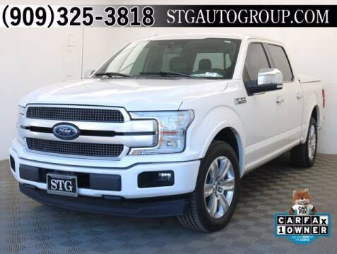 2018 Ford F-150 for sale at STG Auto Group in Montclair CA