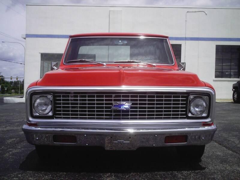 1972 Chevrolet C/K 10 Series for sale at STAPLEFORD'S SALES & SERVICE in Saint Georges DE