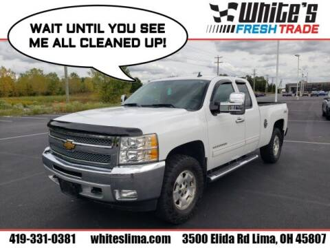 2013 Chevrolet Silverado 1500 for sale at White's Honda Toyota of Lima in Lima OH