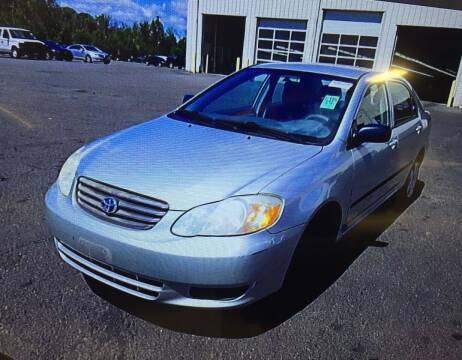2004 Toyota Corolla for sale at Drive Deleon in Yonkers NY