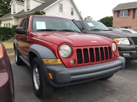 2007 Jeep Liberty for sale at Rine's Auto Sales in Mifflinburg PA