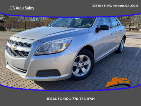 2013 Chevrolet Malibu for sale at JES Auto Sales LLC in Fairburn GA