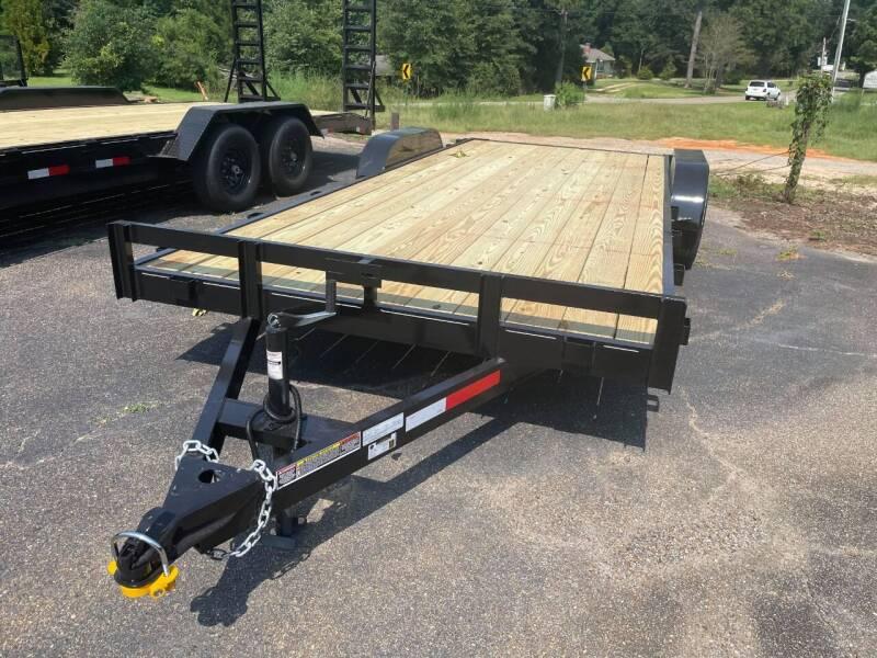 2021 C&W Trailers 7-20-3.5K-FB2 for sale at WALKER MOTORS LLC in Hattiesburg MS