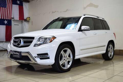 2014 Mercedes-Benz GLK for sale at ROADSTERS AUTO in Houston TX