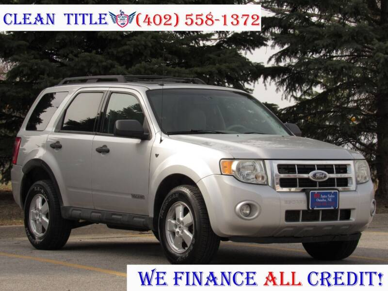 2008 Ford Escape for sale at NY AUTO SALES in Omaha NE