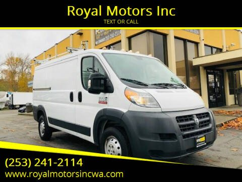 2016 RAM ProMaster Cargo for sale at Royal Motors Inc in Kent WA