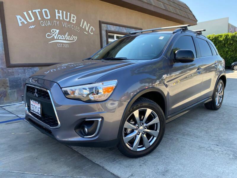2013 Mitsubishi Outlander Sport for sale at Auto Hub, Inc. in Anaheim CA