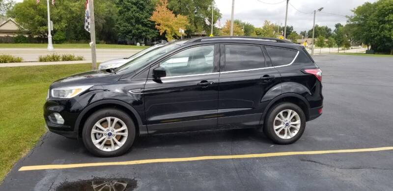 2018 Ford Escape for sale at SINDIC MOTORCARS INC in Muskego WI
