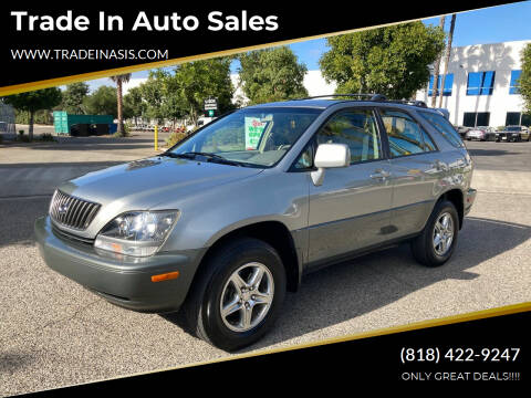 2000 Lexus RX 300 for sale at Trade In Auto Sales in Van Nuys CA